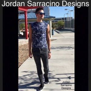 Jordan Sarracino Designs sleeveless nautical shirt
